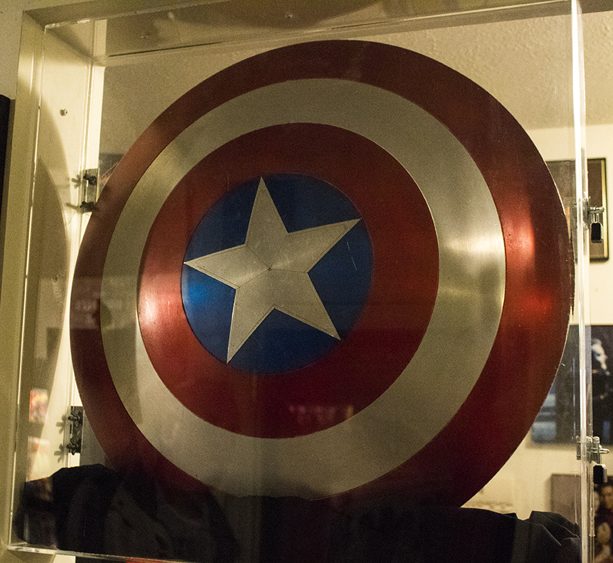 Captain America Shield, Movie Prop
