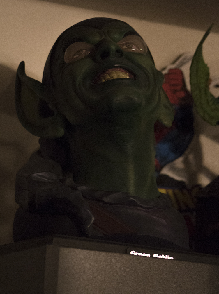 Green Goblin mask