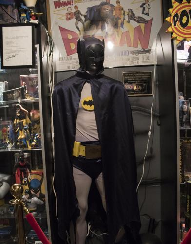 Adam West's Batman Costume